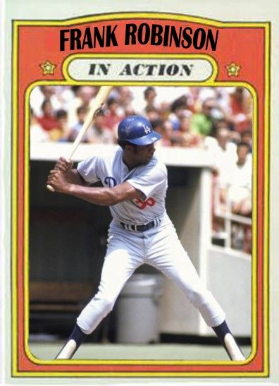 Frank Robinson Los Angeles Dodgers