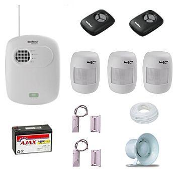 CFTV é Shop do CFTV! Distribuidora Segurança Eletronica SP e Distribuidor CFTV | Kit Central de Alarme 8 Zonas Intelbras   3 IVP   2 Sensores Porta de Aço | CFTV Shop Distribuidora Segurança Eletrônica e Distribuidora de Equipamentos para Segurança Eletrônica SP
