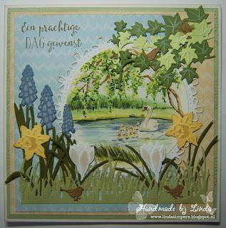 Handmade by Linda: Een prachtige dag gewenst.