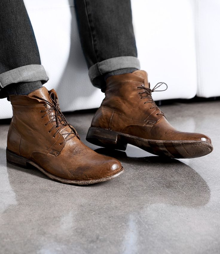 Look no further! You have found excellence in ENZO. A chukka style boot,