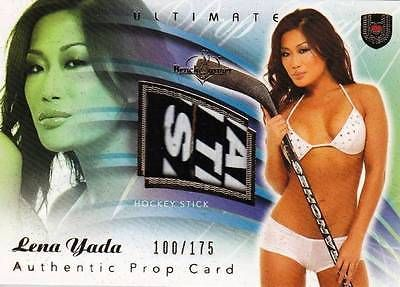 Lena yada 2009 #benchwarmer prop #hockey stick #swatch sp 100/175 hot,  View more on the LINK: 	http://www.zeppy.io/product/gb/2/381528468025/