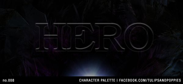 no.008 Character Palette: Hero --- Be Inspired. Create. Write --- Click the photo to follow the journey of sisters co-authoring their first young adult novel. In their fantasy story, fourteen year-old Petunia resists her role as the 'chosen one' to save a forgotten realm. #writersblock #tulipsandpoppies #ya #youngadult #amwriting #amwritingya #writingprompt