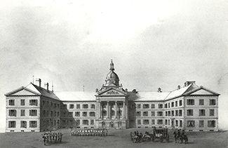 L'ancienne chapellede l'évêché de Québec abrite les parlementaires bas-canadiens à partir de 1792. Très vite, on constate que l'édifice, plus que centenaire, répond mal aux besoins de sa nouvelle fonction et nécessite de constantes réparations. En 1815, l'arpenteur Joseph Bouchette signale que les murs sont mauvais jusqu'à leur fondation et que l'édifice «menace d'une ruine prochaine». En 1831, on lance la construction de la première aile d'un nouvel édifice qui en comptera 3. Les…