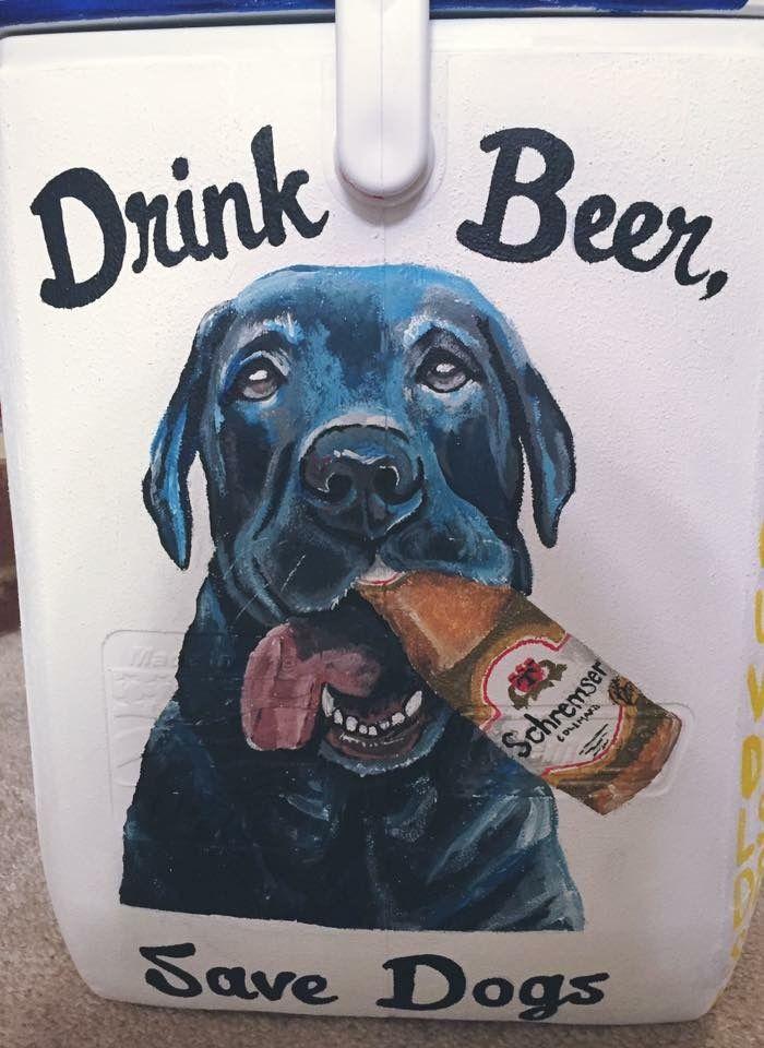 beer dog cooler