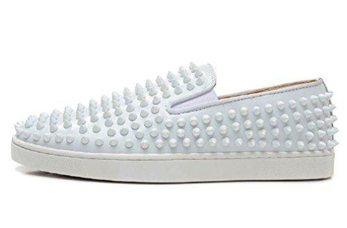 Men White Spike Low Sneakers, US 9 KOKOSHELL https://www.amazon.com/dp/B06XZXK523/ref=cm_sw_r_pi_dp_x_hBggzbGPMSAW5