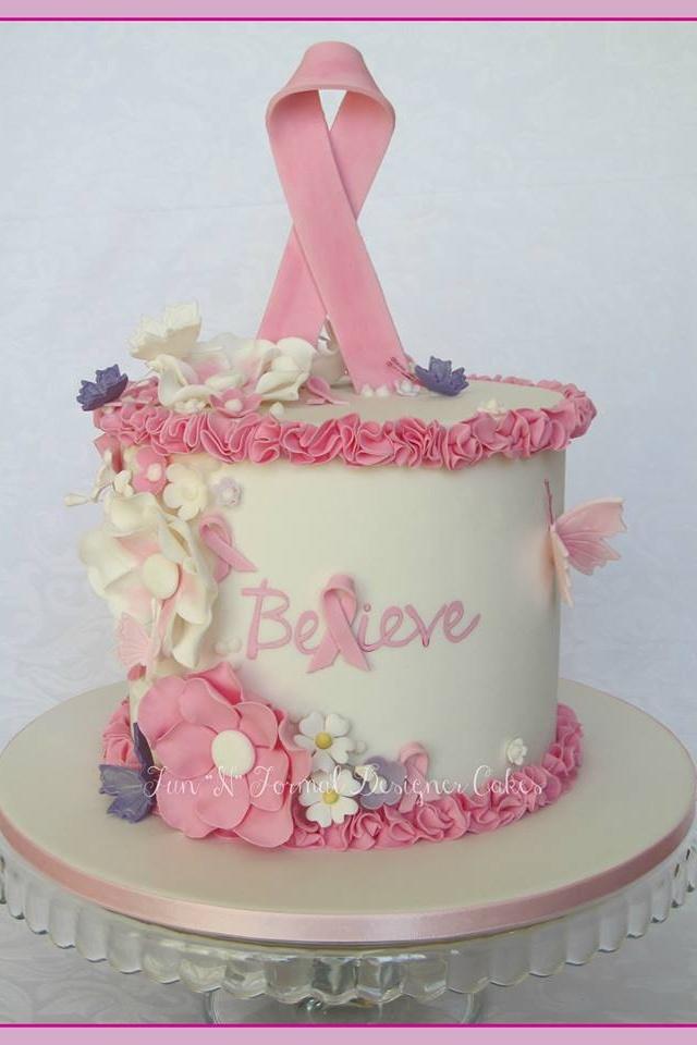 Cake Designs For Cancer