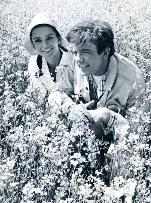 Audrey Hepburn and Albert Finney, Two for the Road.