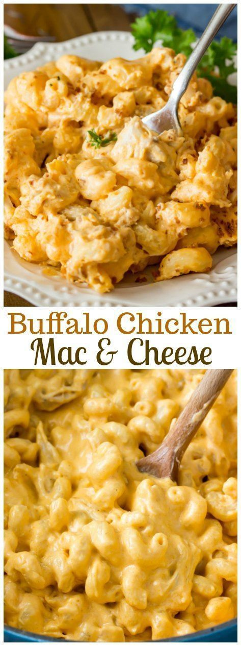 A creamy, spicy buffalo chicken mac and cheese topped off with a buttery toasted panko -- a richly delicious mac & cheese like you've never had before!