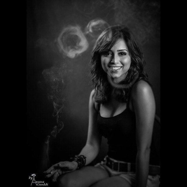 Smokey... #Portraits #areesz #BnW #SmokingKills @samenthaf