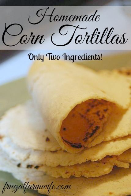 Homemade Corn Tortillas Homemade Corn Tortillas. So easy to make, and lightyears better than any other gluten-free tortilla I've ever had!