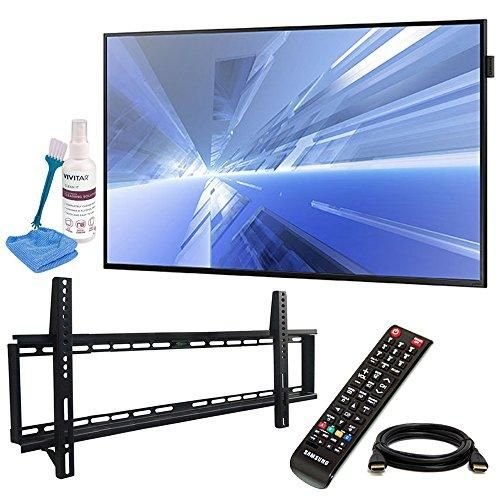 "Samsung (DB40E) 40"" Slim Direct-Lit LED Display for Business with Pro Wall Mount Kit, 6ft HDMI Cable, and Cleaning Kit"