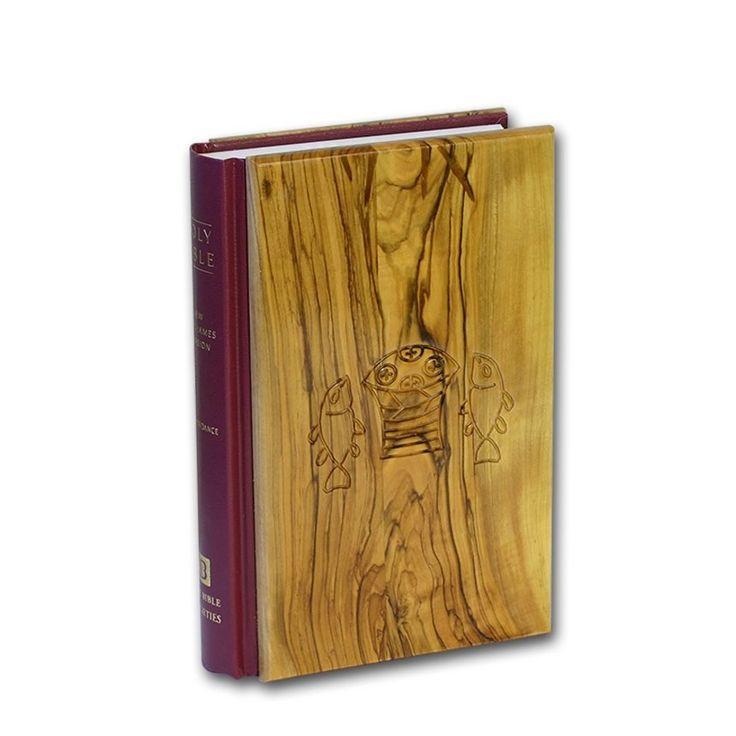 The Holy Bible - Olive Wood Cover – King James Version (KJV) - Made in Israel #MadeinIsrael #holyland #holylandisrael #ChristianGifts  #Jewish #TheHolyBible #Wood #KingJamesVersion #KJV #thegoodbook