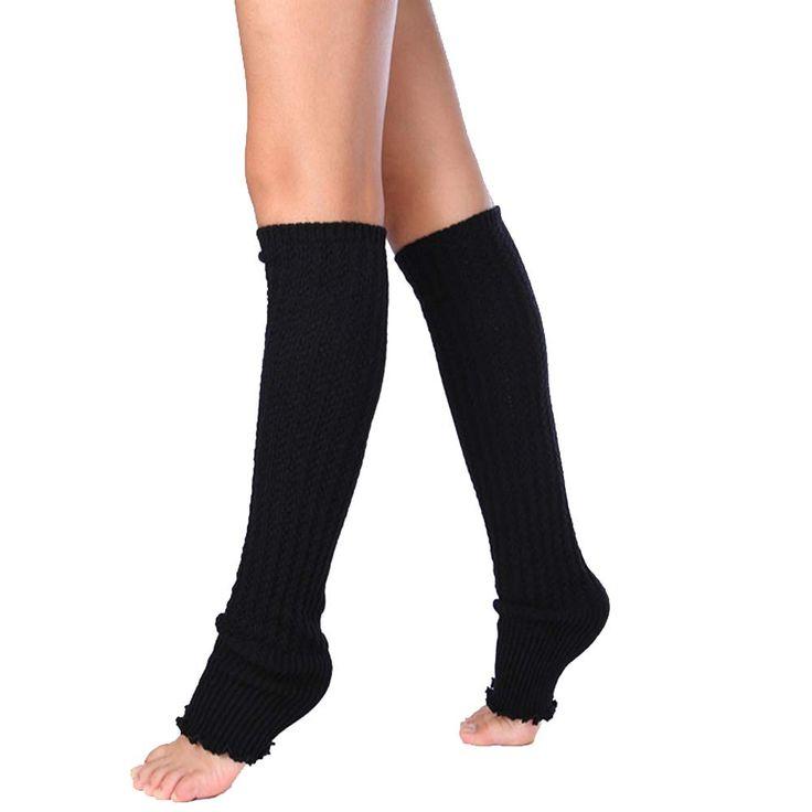 秋冬女性新しいファッションオーバーザ膝暖かいレッグウォーマーチャーミングスタイリッシュなレースパッチワークロングレギンスウォーマーNov8