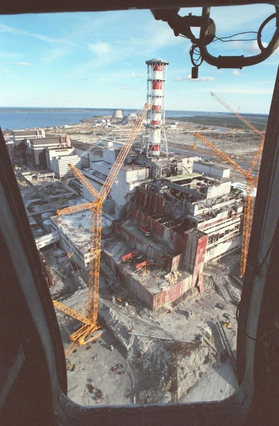 Wanna see Chernobyl reactor4 from helicopter ?  Feel, book and enjoy your next trip with us: http://www.chernobylwel.com/ tours !