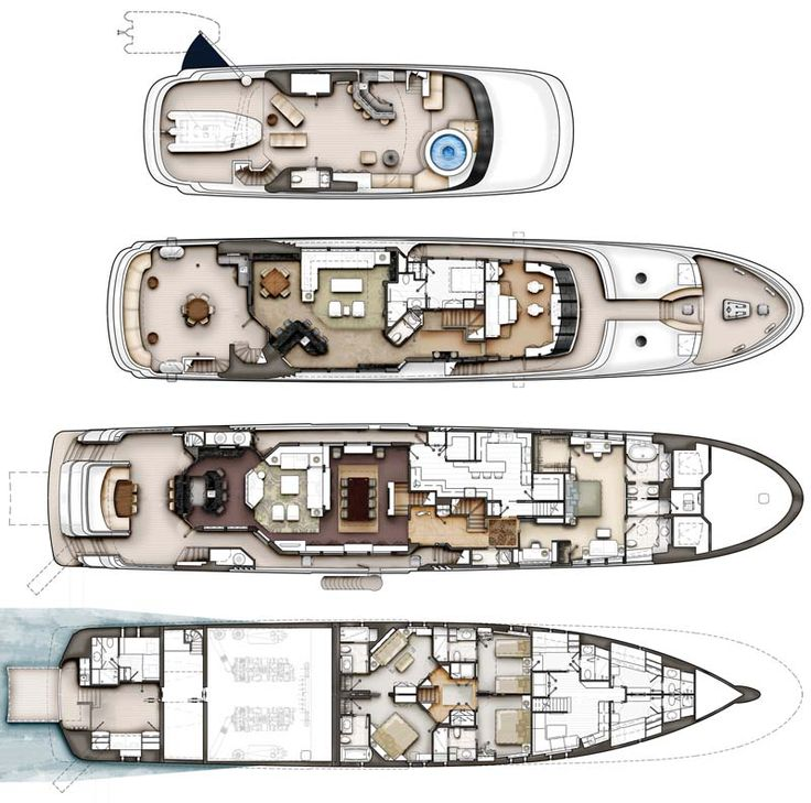 Review: Crescent 144' Tri-Deck Superyacht - Crescent Yacht | YachtForums: We Know Big Boats!
