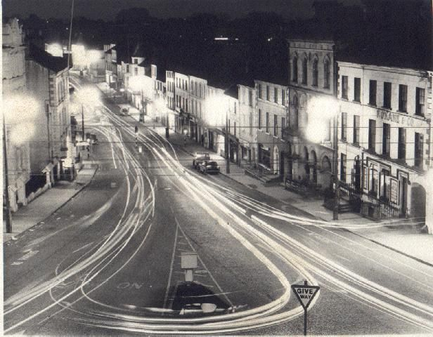 omagh at night | H4572 : Omagh in the 1960s