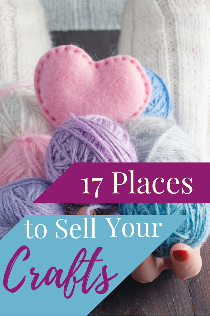17 places to sell your crafts crafts home and from home for Doing crafts at home for money