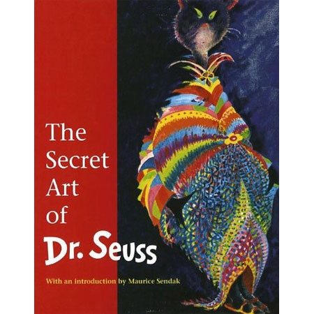 """Theodore Geisel (Dr. Seuss), the author who revolutionized children's books, painted late"