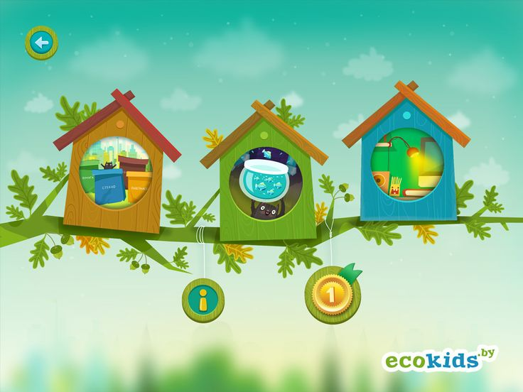 Ecokids [Free tablet game] on Behance