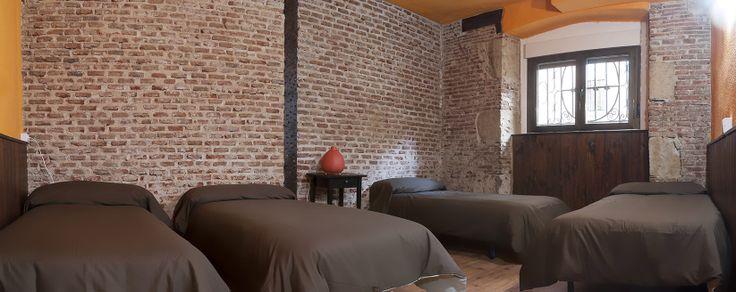 Habitaciones privadas y compartidas | Dormitorios individuales, dobles, triples, cuadruples y quíntuples | Pensión Hostal en Salamanca ::: SWEET HOME SALAMANCA