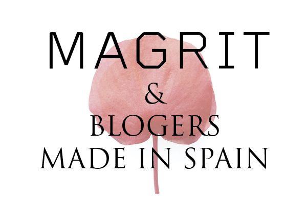 Queremos conocer que opináis sobre MAGRIT nuestros modelos, queremos conocer vuestra visión y vuestra forma de sentirlo y de vivirlo, queremos saber lo que sois capaces de crear e imaginar para comunicar vuestras sensaciones.  Os dejo un cuestionario para que completéis tranquilamente en casa y seleccionaremos 12 bloggers que serán las ganadoras del 2015, doce meses doce bloggers MADE IN SPAIN. Envianos tus respuestas a info@magrit.es, el día 10 de enero anunciaremos las ganadoras 2015