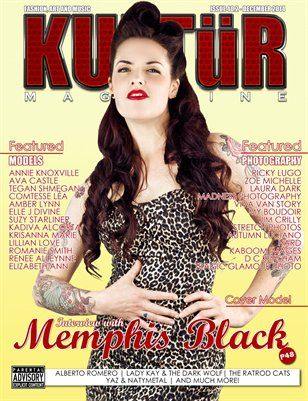 Kultur Mag: Kultur - Issue 40.2 - December 2014, $32.95 from MagCloud