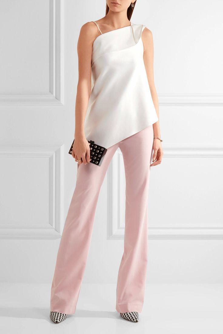 Altuzarra | Serge wool-blend piqué pants | NET-A-PORTER.COM