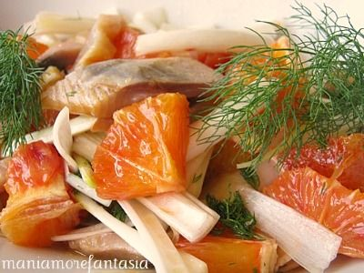 Insalata di arance | arance in insalata | ricetta insalata arance