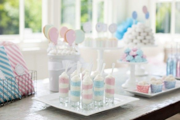 Gender Reveal Party For Pottery Barn Kids Pottery Barn