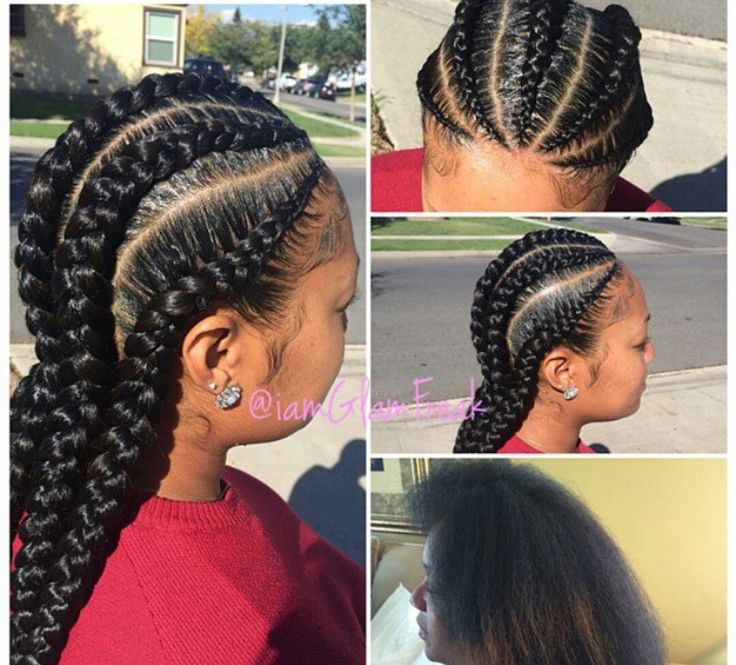 Cute cornrows | Natural hair styles, Protective hairstyles for natural hair, Hair styles