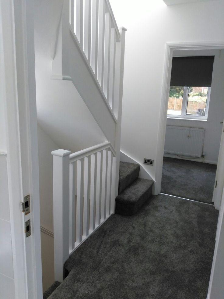 Best Stairs Grey Carpet White Walls Grey Carpet Living Room 400 x 300
