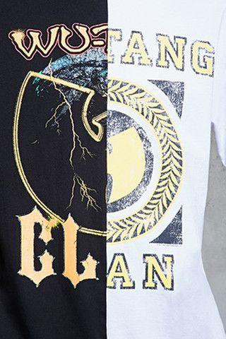 Wu-Tang Clan Split Tee | 21 MEN - 2000095308