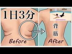 【3分で背中の脂肪を落とし鍛える‼】くびれ・逆三角形の体は背筋の筋トレで作れます‼ - YouTube