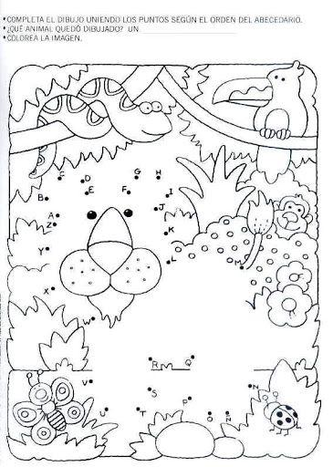 actividades para preescolar   descargar todo el material imprimible  en un pdf listo para su impresión           pasatiempos, actividad, ...