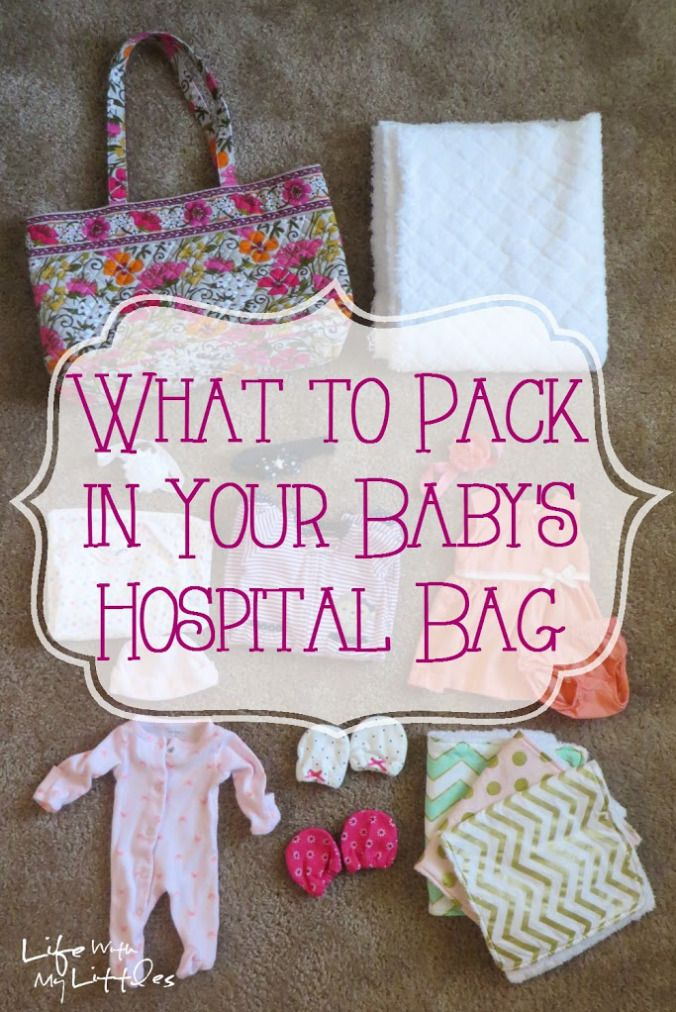What to Pack in Your Baby's Hospital Bag: What an experienced mom packed the first time, what she didn't use, and what she packed the second time! A super helpful list!