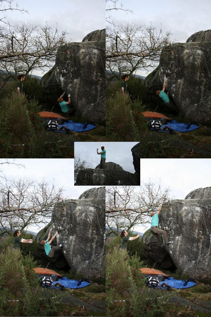 #Barredo, Boulder  Escalada Galicia.