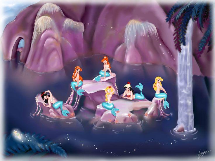Peter Pan mermaid lagoon
