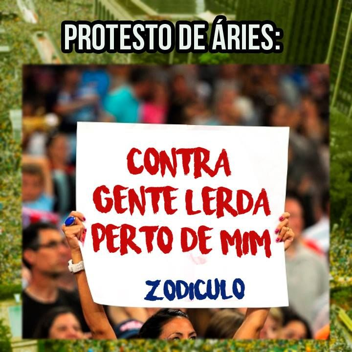 A página Zodiculo, que já figurou aqui pelo Catraca Livre outras tantas vezes, postou no Facebook uma série de animações divertidas mostrando como seria o protesto de cada signo.