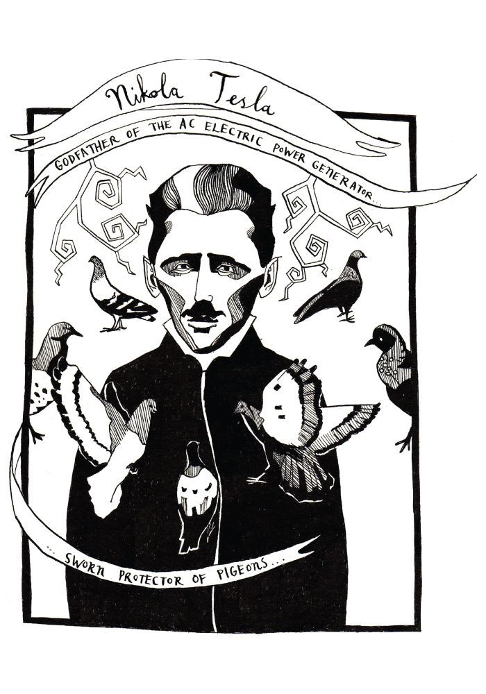 902b20f34 Nikola Tesla t shirt by Emma Ridgway | полезно | Tesla turbine ...