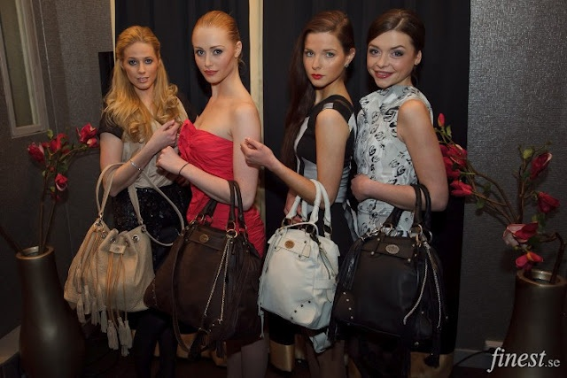 Maria Montazami Collection, Handbag Release Party in Stockholm. Hair & Makeup: Johanna Stake