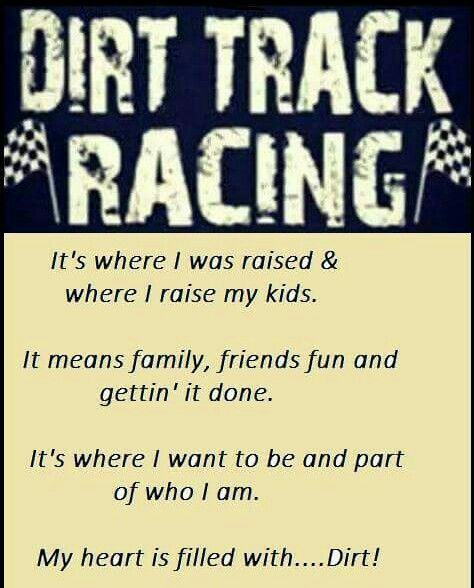 how to get started in dirt track racing