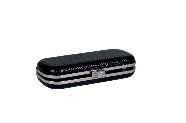 Jo Borkett Black Clutch