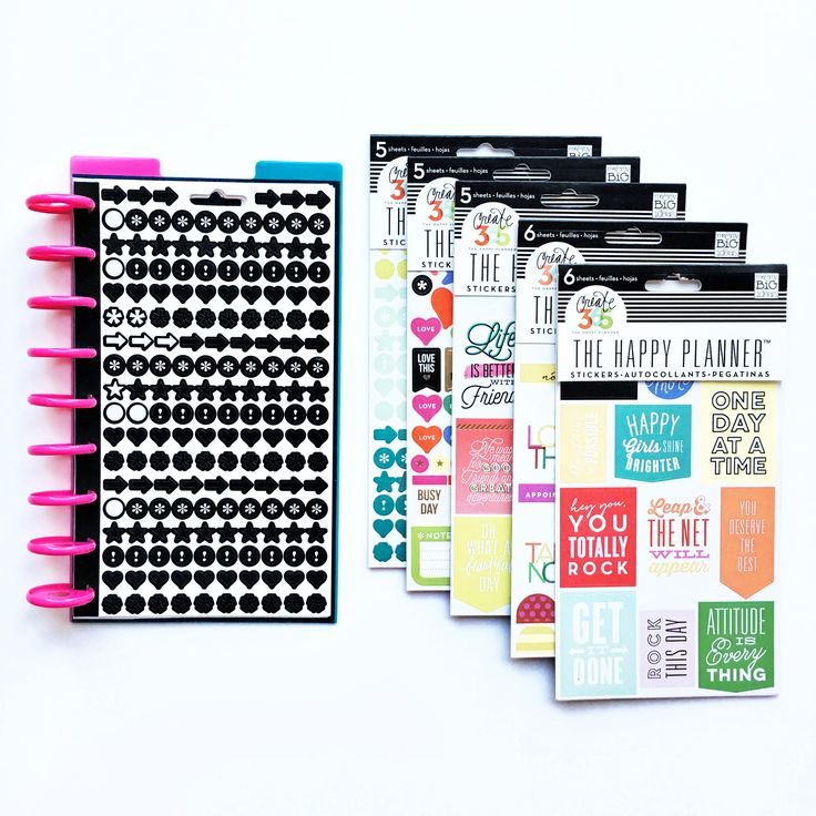 Found it at Blitsy - How to Make a Happy Planner Sticker Book