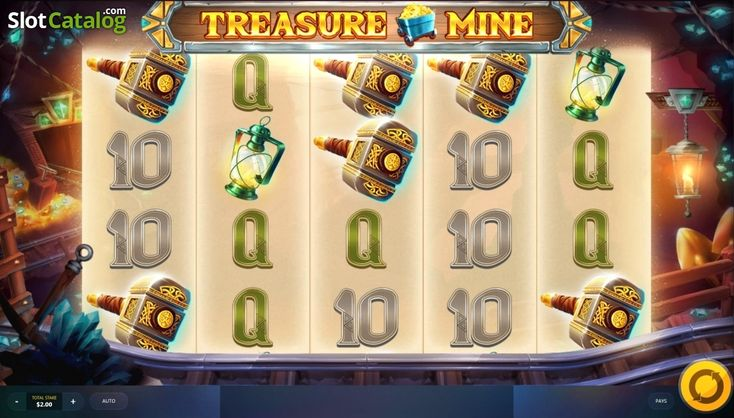 Screen8. Treasure Mine (Video Slot from Red Tiger)