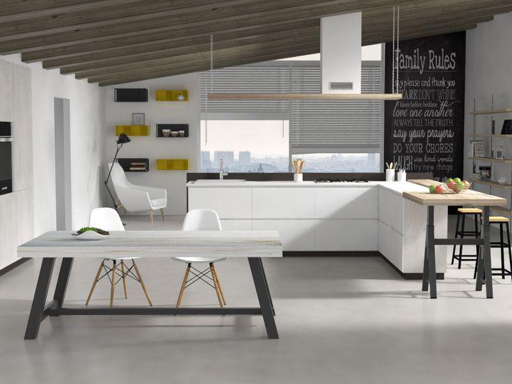 Oltre 25 fantastiche idee su tavoli da cucina su pinterest - Tavoli tondi da cucina ...