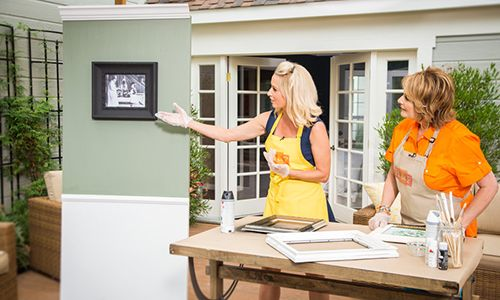 Home & Family - Tips & Products - Katherine LaNasa's Tips for Repurposing Picture Frames & Decorating | Hallmark Channel