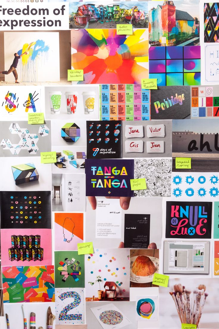 Mood boards, Inspiration boards, all the boards! We put everything from type, to color to full artworks on our brand boards. How do you get inspired?