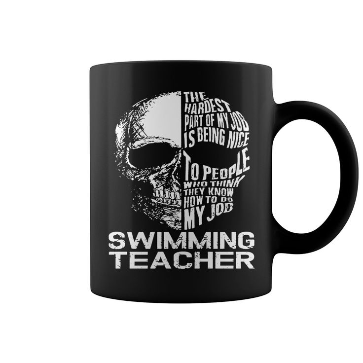 SWIMMING TEACHER Mug Skull Job #gift #ideas #Popular #Everything #Videos #Shop #Animals #pets #Architecture #Art #Cars #motorcycles #Celebrities #DIY #crafts #Design #Education #Entertainment #Food #drink #Gardening #Geek #Hair #beauty #Health #fitness #History #Holidays #events #Home decor #Humor #Illustrations #posters #Kids #parenting #Men #Outdoors #Photography #Products #Quotes #Science #nature #Sports #Tattoos #Technology #Travel #Weddings #Women