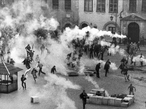 Martial law in Poland (Warszawa, 1984)