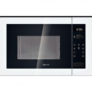 Neff H12WE60W0G Built-In Microwave Oven White - Banyo